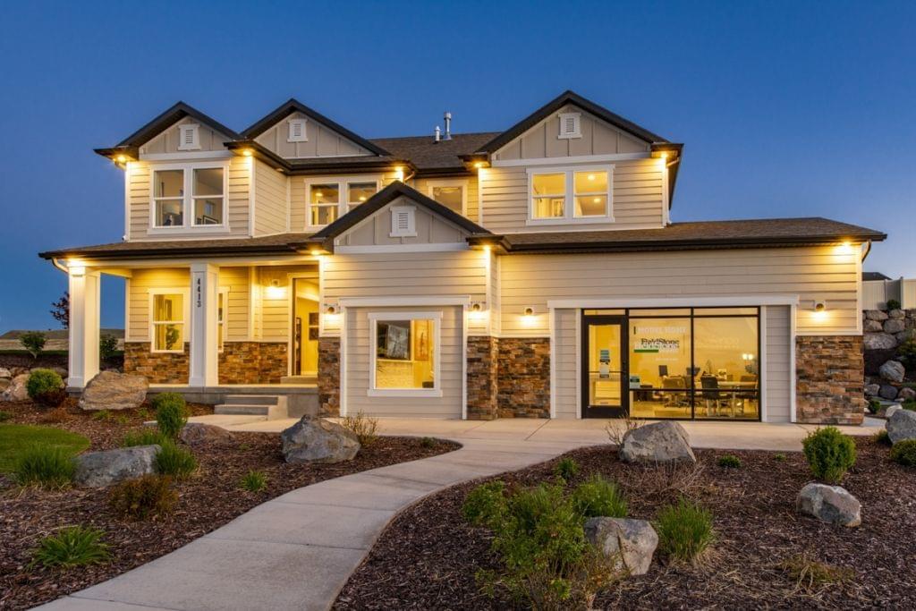 The Naples new home floorplan in Utah