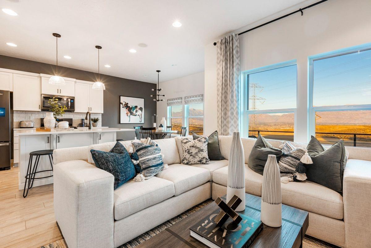 The Rosebud new home floorplan in Utah