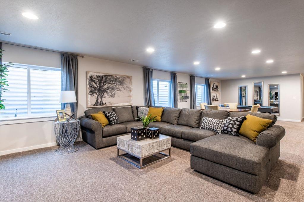 The Oakley new home floorplan in Utah
