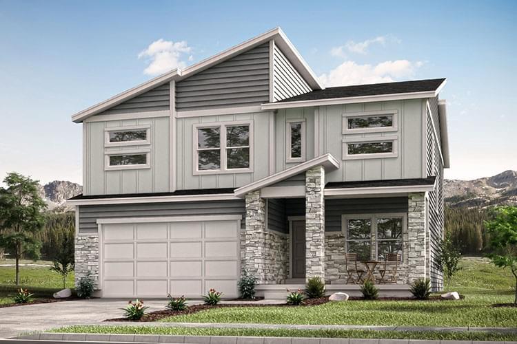 Aspen new home in Eagle Mountain, UT