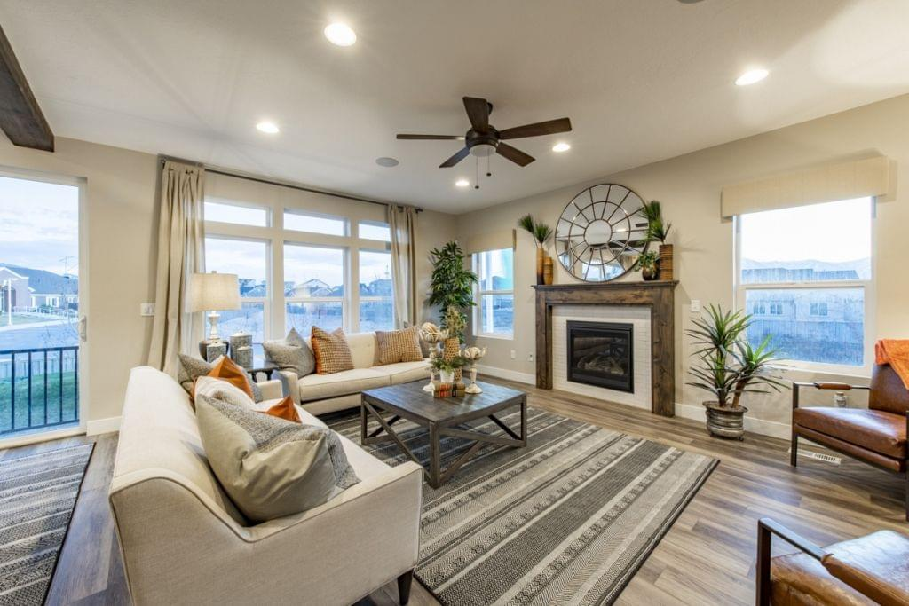 The Oquirrh new home floorplan in Utah