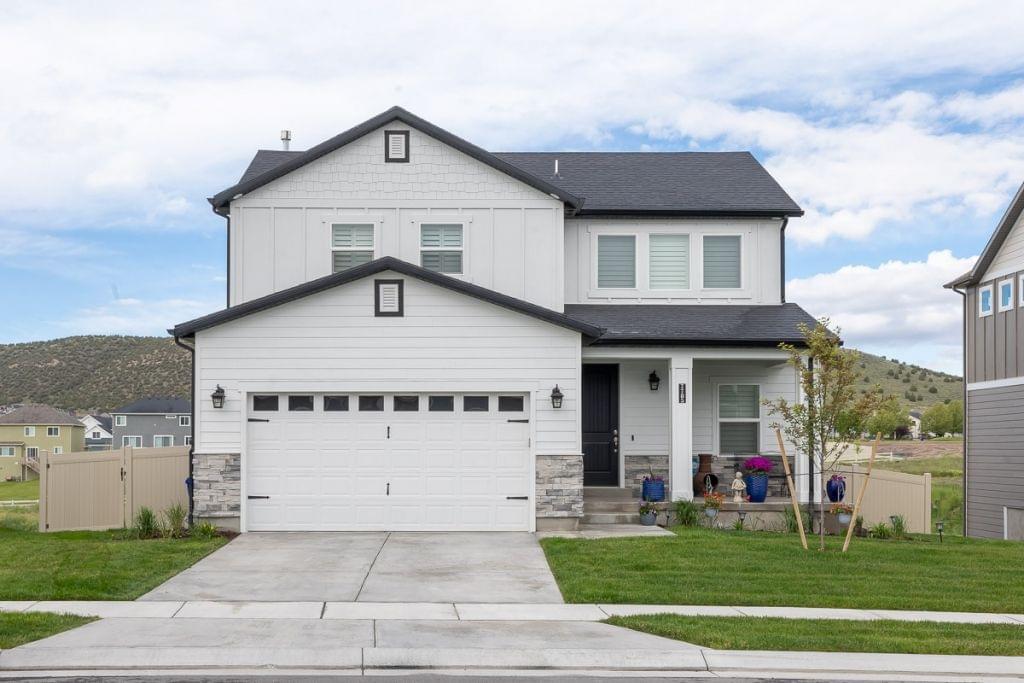 The Morgan new home floorplan in Utah