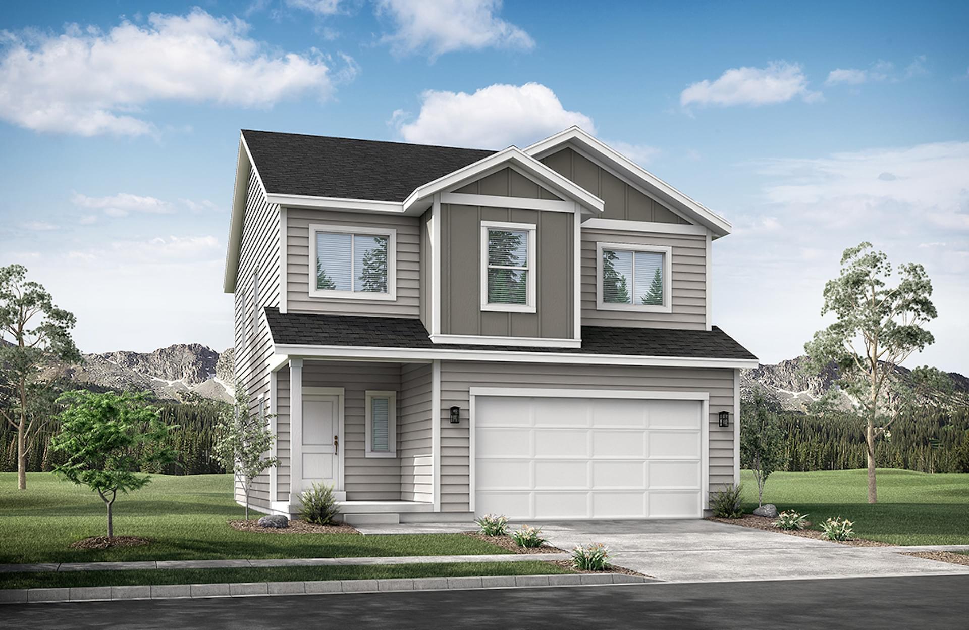 Bridger new home in Eagle Mountain, UT