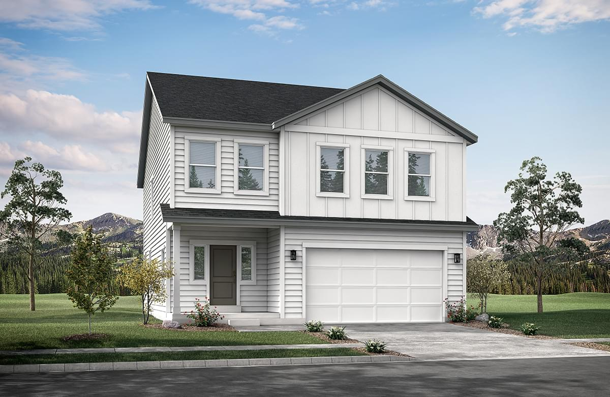 The Sweetwater new home floorplan in Utah