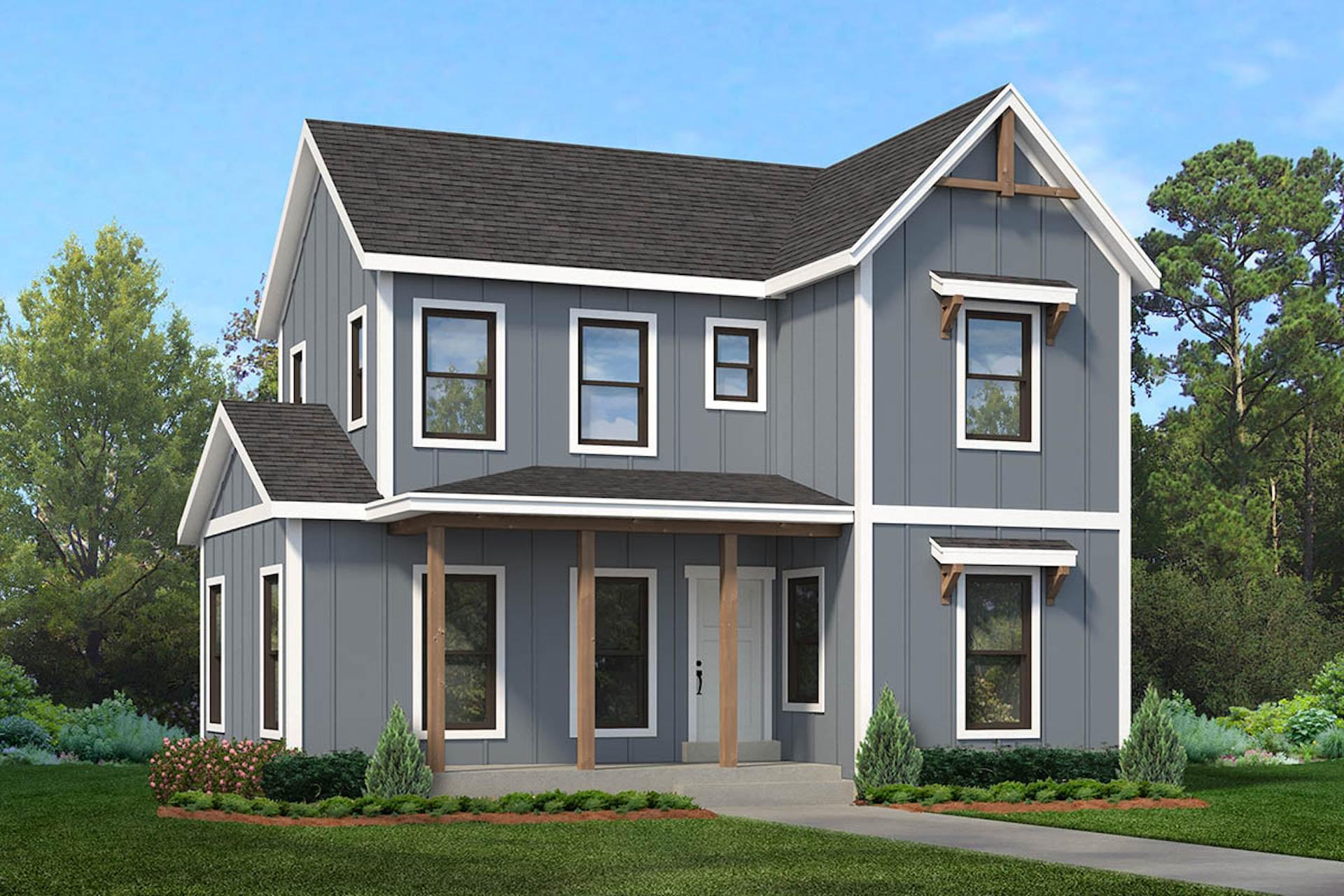 The Camber new home floorplan in Utah