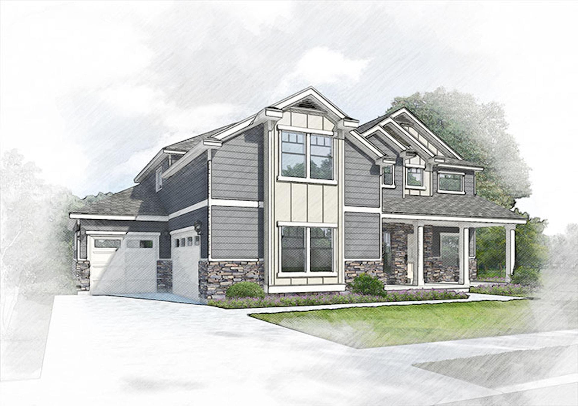 Grand Gallivan new home in Lehi, UT