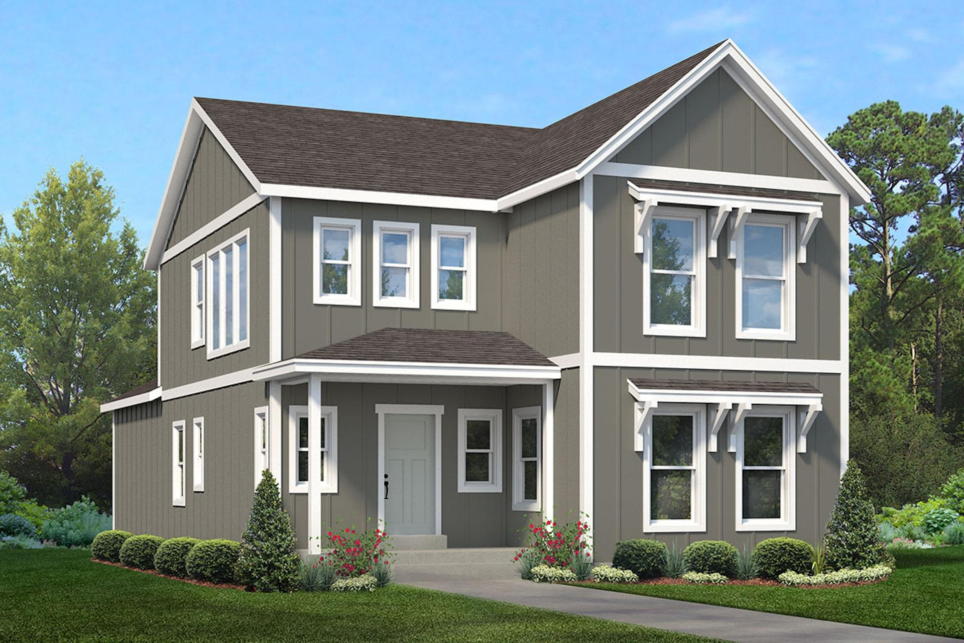 The Greenside new home floorplan in Utah