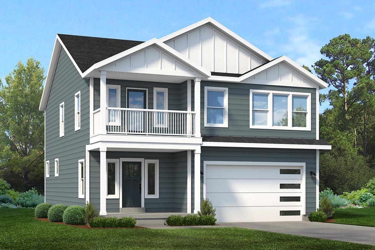 The Orion new home floorplan in Utah
