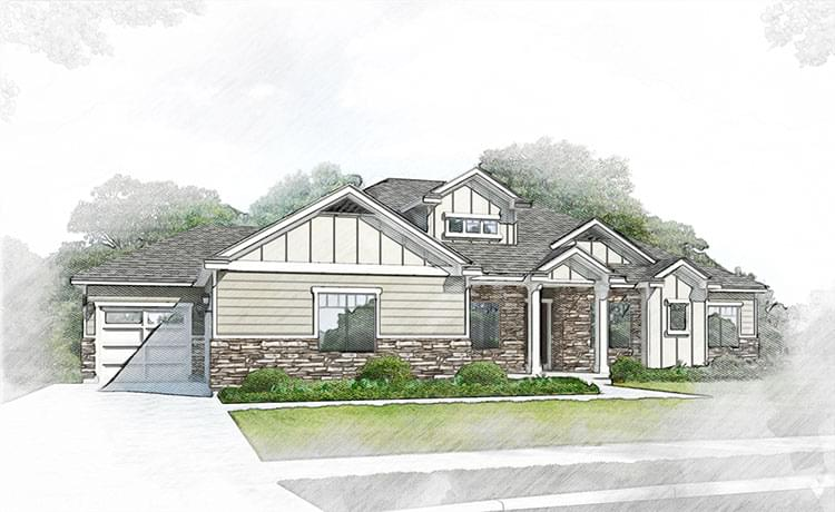 The Santa Clara new home floorplan in Utah