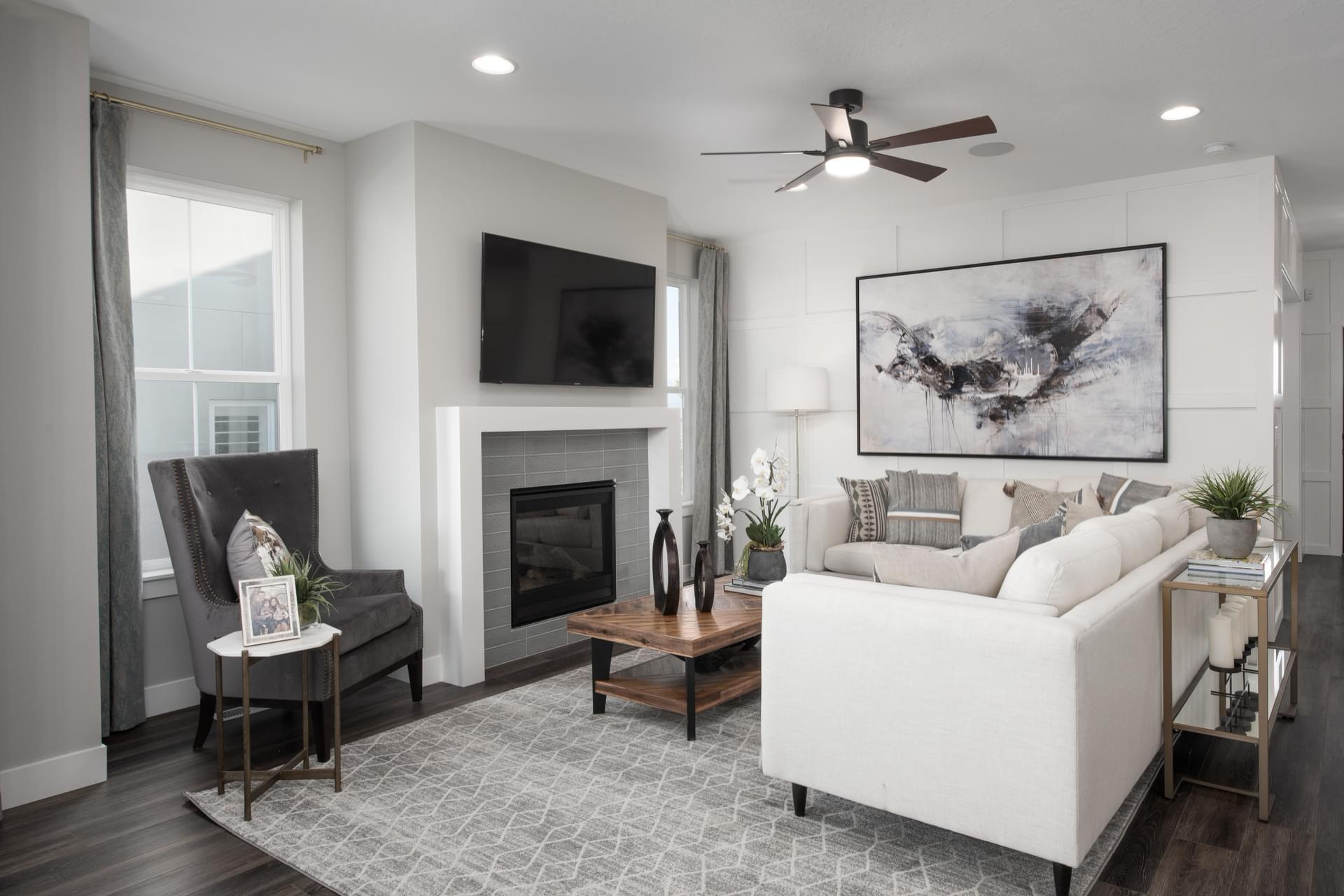 The Cambridge new home floorplan in Utah