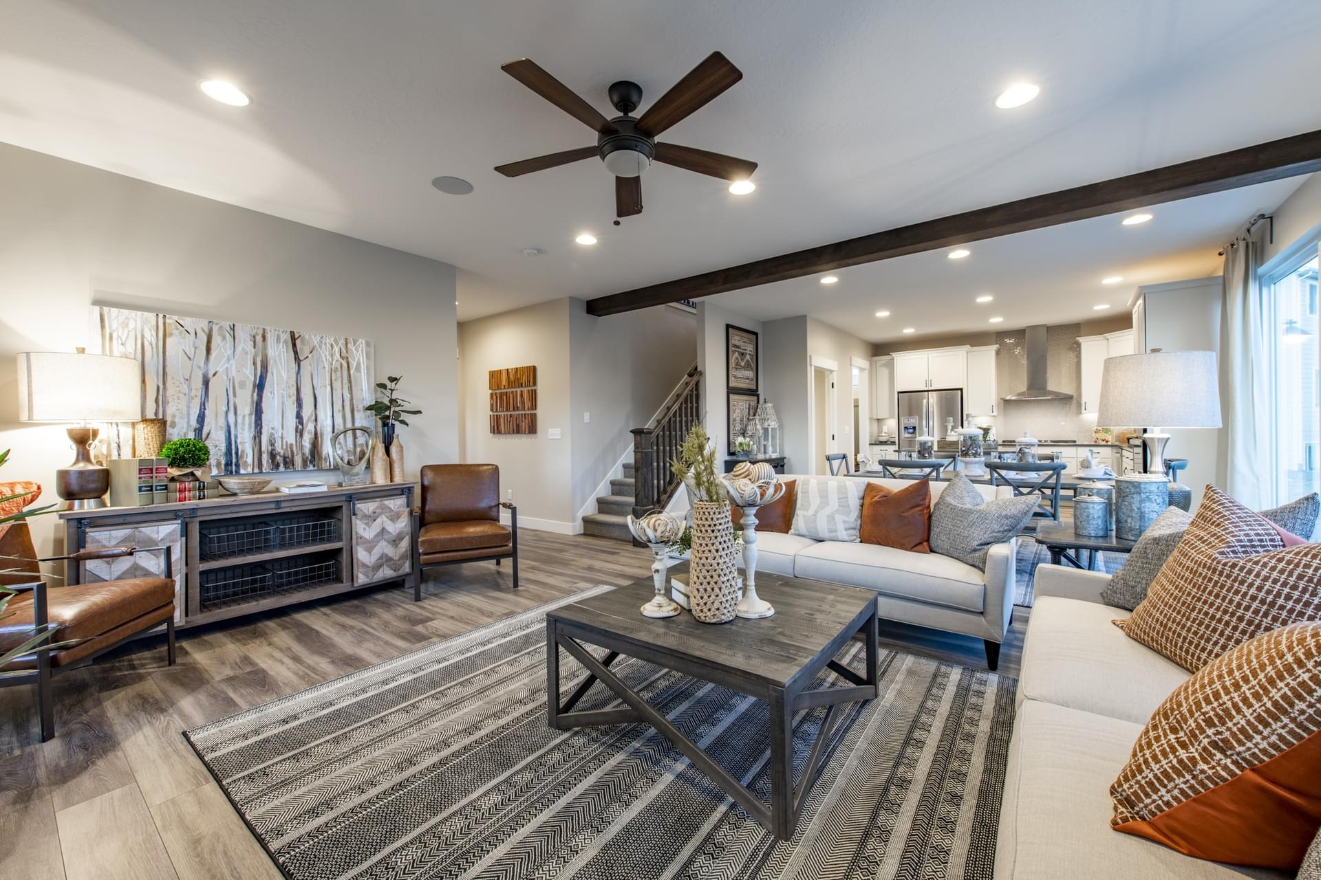 New Home Family Rooms Photos of Fieldstone Homes