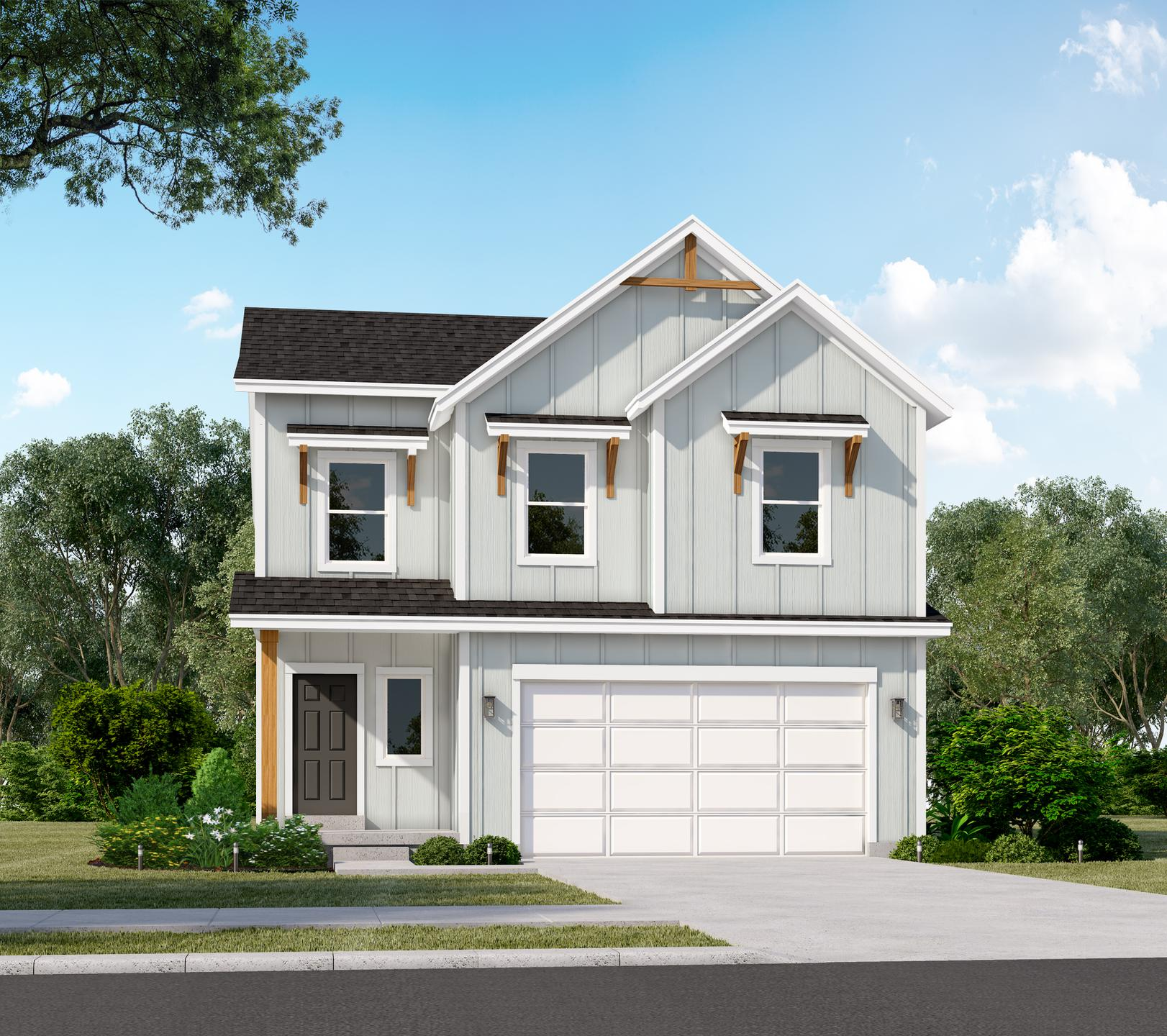 The Ashwood new home floorplan in Utah