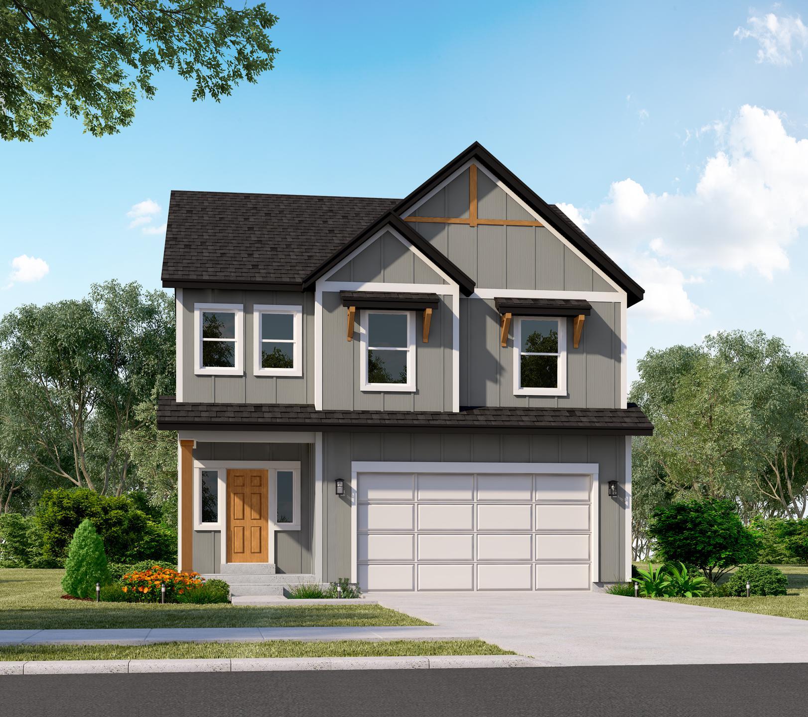 The Stonebridge new home floorplan in Utah