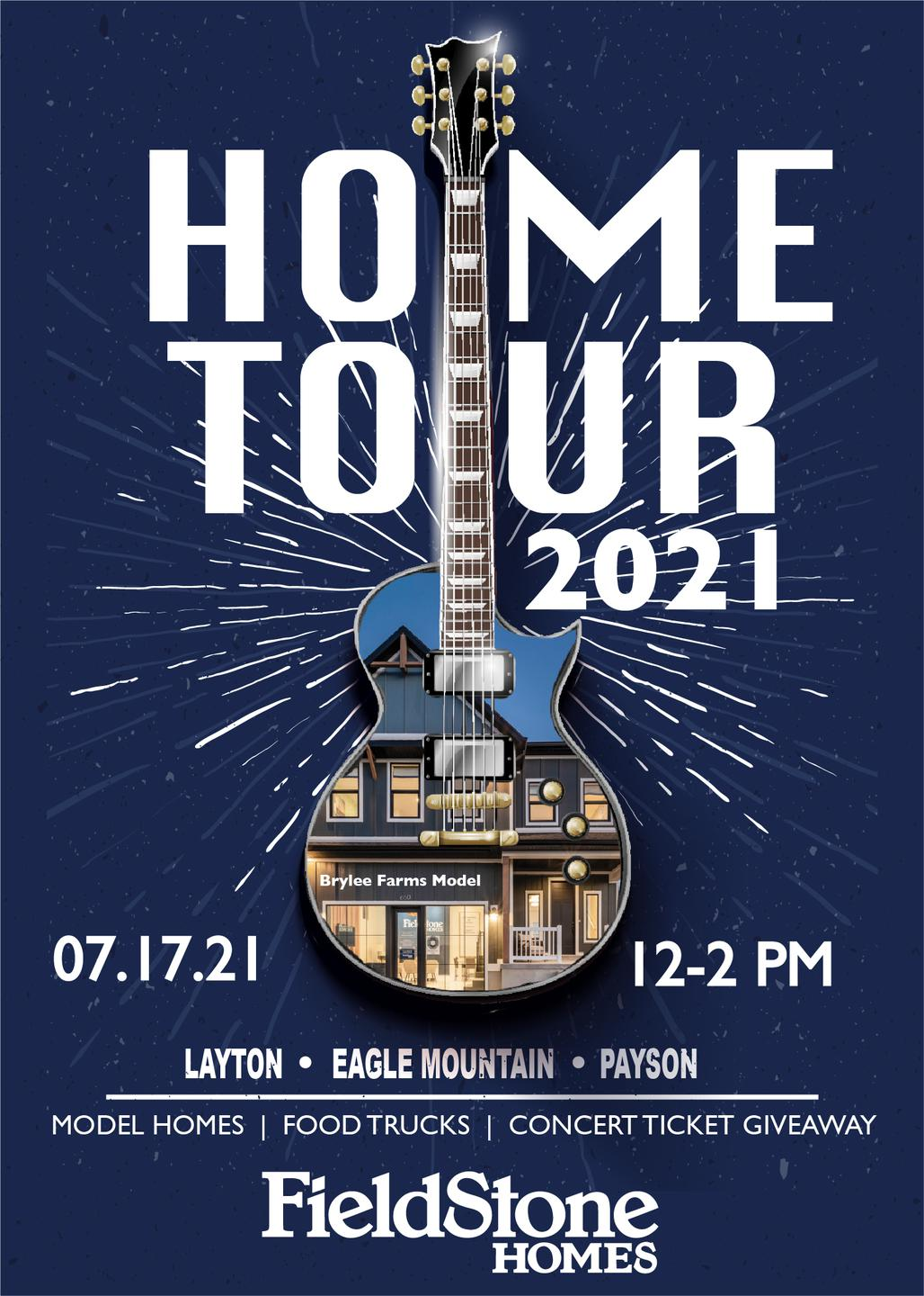 Kick Off Your New Home Journey at the Home Tour 2021 by Fieldstone Homes!
