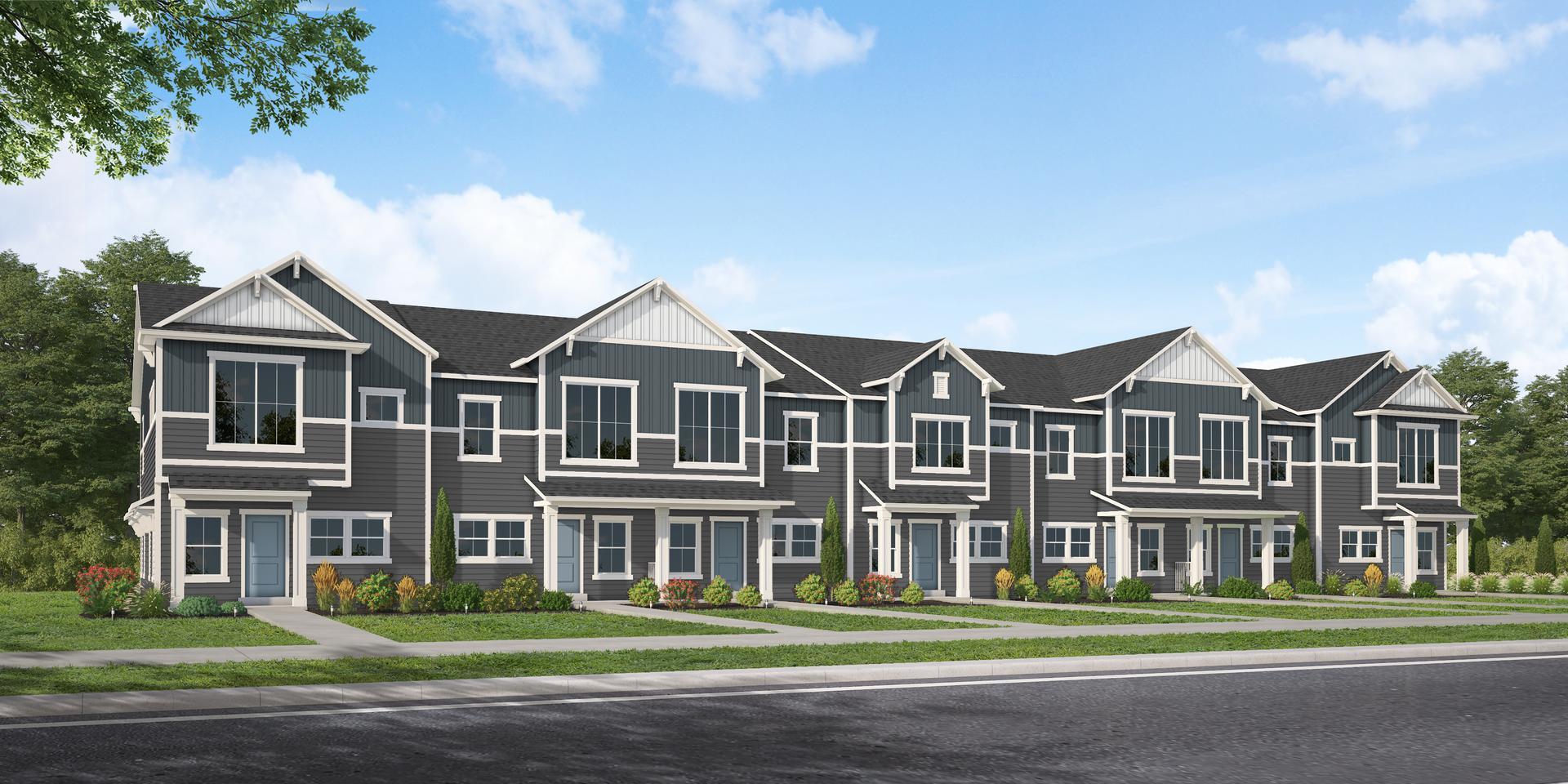 The Cascade new home floorplan in Utah