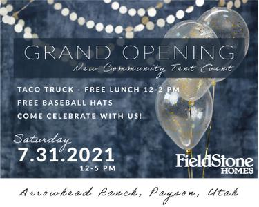 Arrowhead Ranch Grand Opening Event - Saturday, July 31st