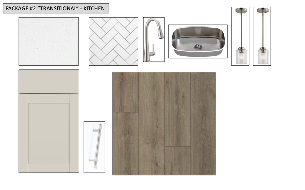 Transitional Design Package #2. Eagle Mountain, UT New Home
