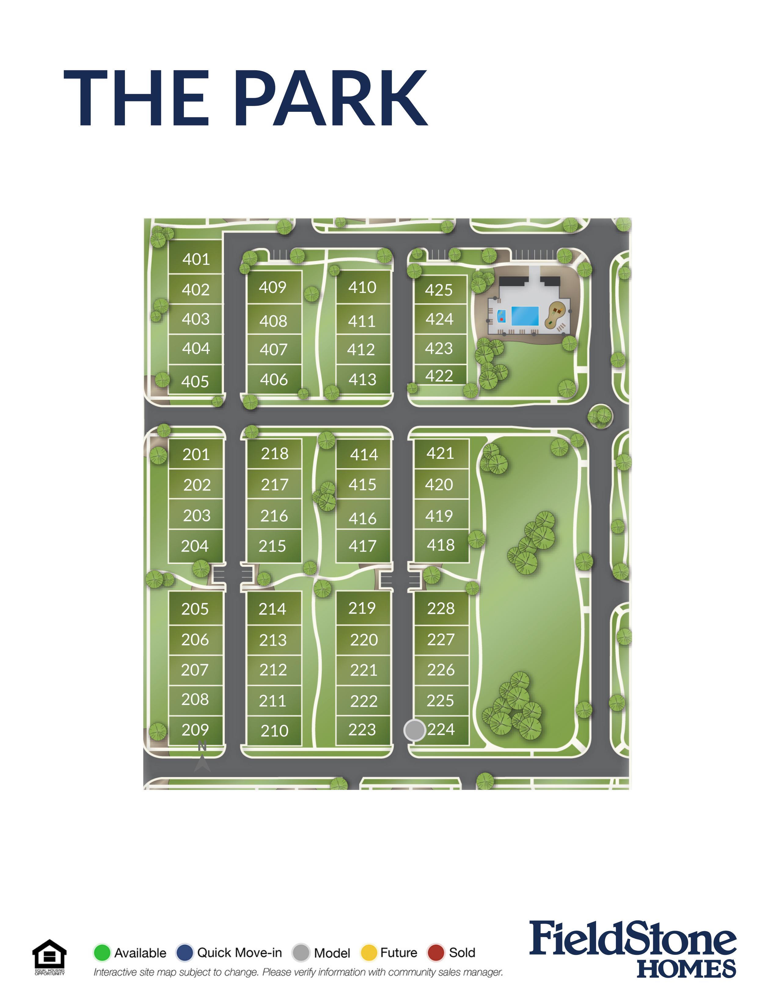 Layton, UT The Park New Homes
